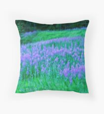 Monet....Unleashed and Wild ! Throw Pillow
