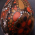 Dreamtime Egg by Cathy Gilday