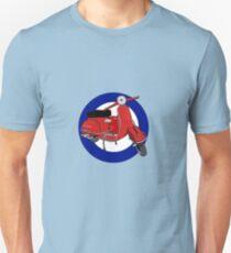 Mod Scooter Cirle Unisex T-Shirt