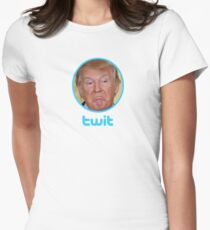 Twit Fitted T-Shirt