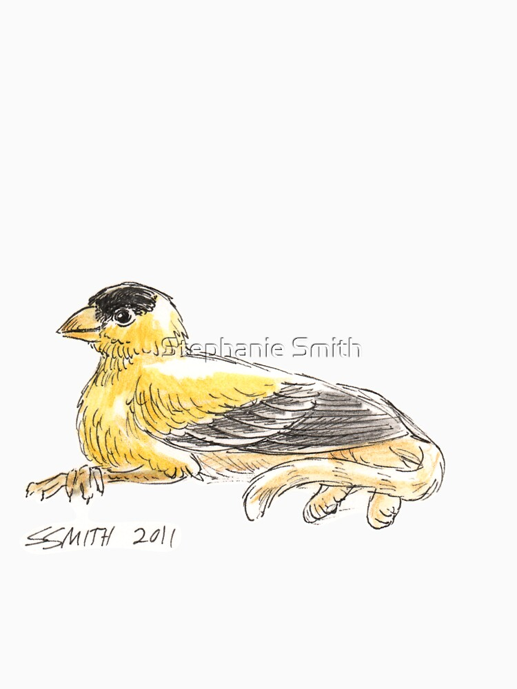 Sketch -- Mythological House Griffin: Goldfinch Variety by stephsmith