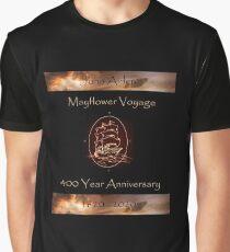 Mayflower 400 Year Anniversary - John Alden Graphic T-Shirt