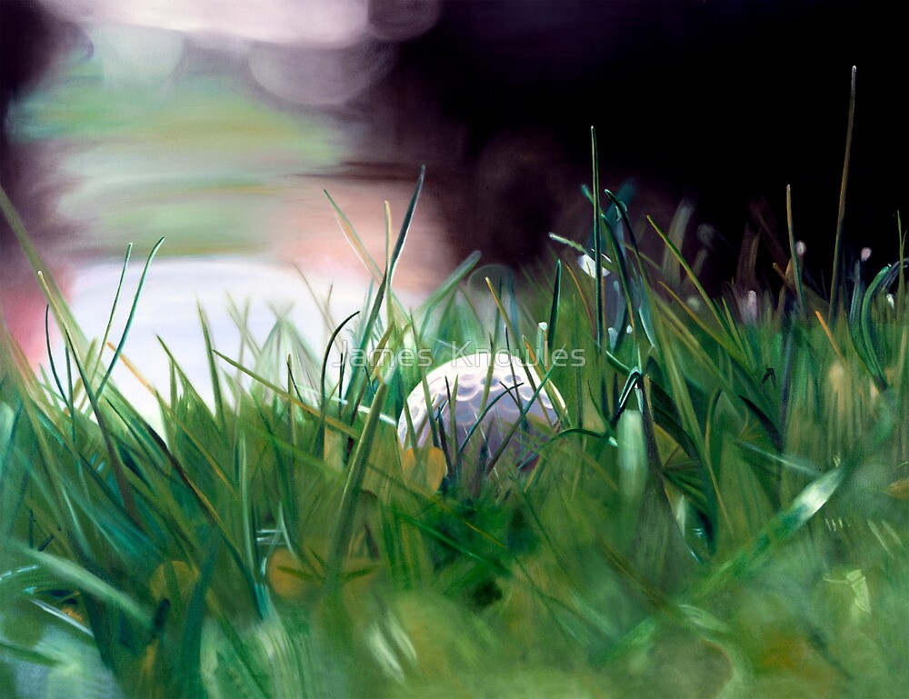 Quot Quot Possibility Quot Oil Painting Of A Golf Ball Sitting In