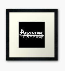 Adventure Framed Print