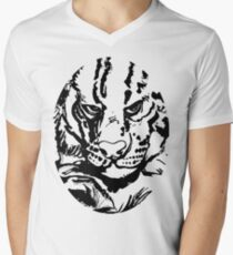 Ships Cat  Men's V-Neck T-Shirt