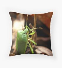 Winter Bug Throw Pillow