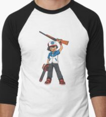 Ash Men's Baseball ¾ T-Shirt