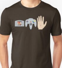 Mario Party Hand Blister Unisex T-Shirt