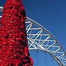 Pedestrian Bridge (Denver, Colorado) by Brendon Perkins