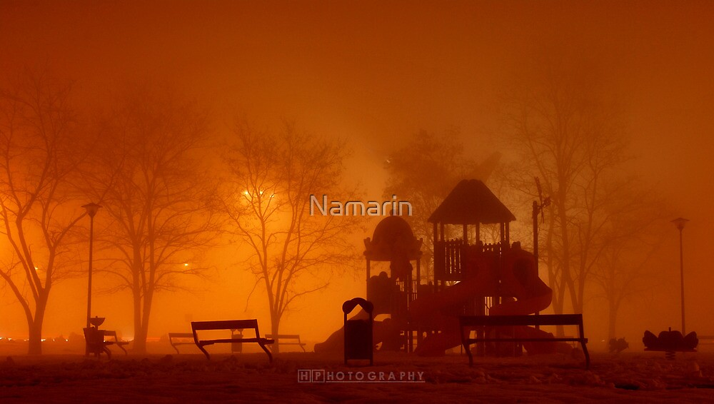 Deserted playgrounds 3 by Namarin