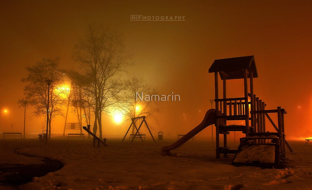 Deserted playgrounds 2 by Namarin