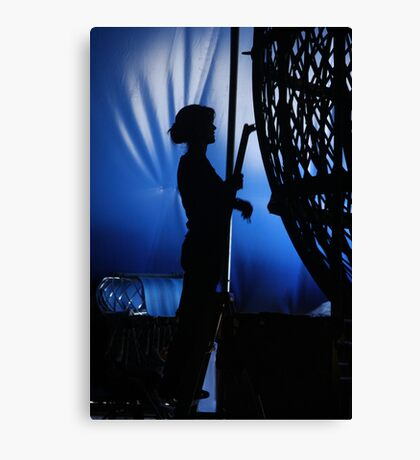 Backstage  Canvas Print