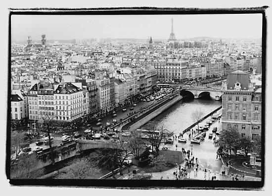 Paris Skyline by DavidDArnold