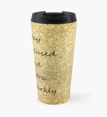 Sparkly Thermosbecher