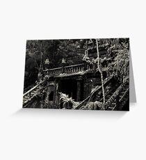 Spanish Castle Dreams II [split tone] Greeting Card