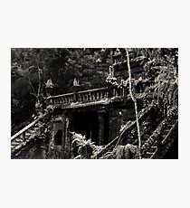 Spanish Castle Dreams II [split tone] Photographic Print