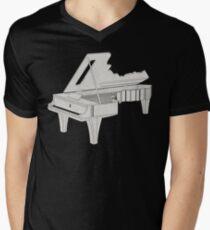 Piano Key Men's V-Neck T-Shirt