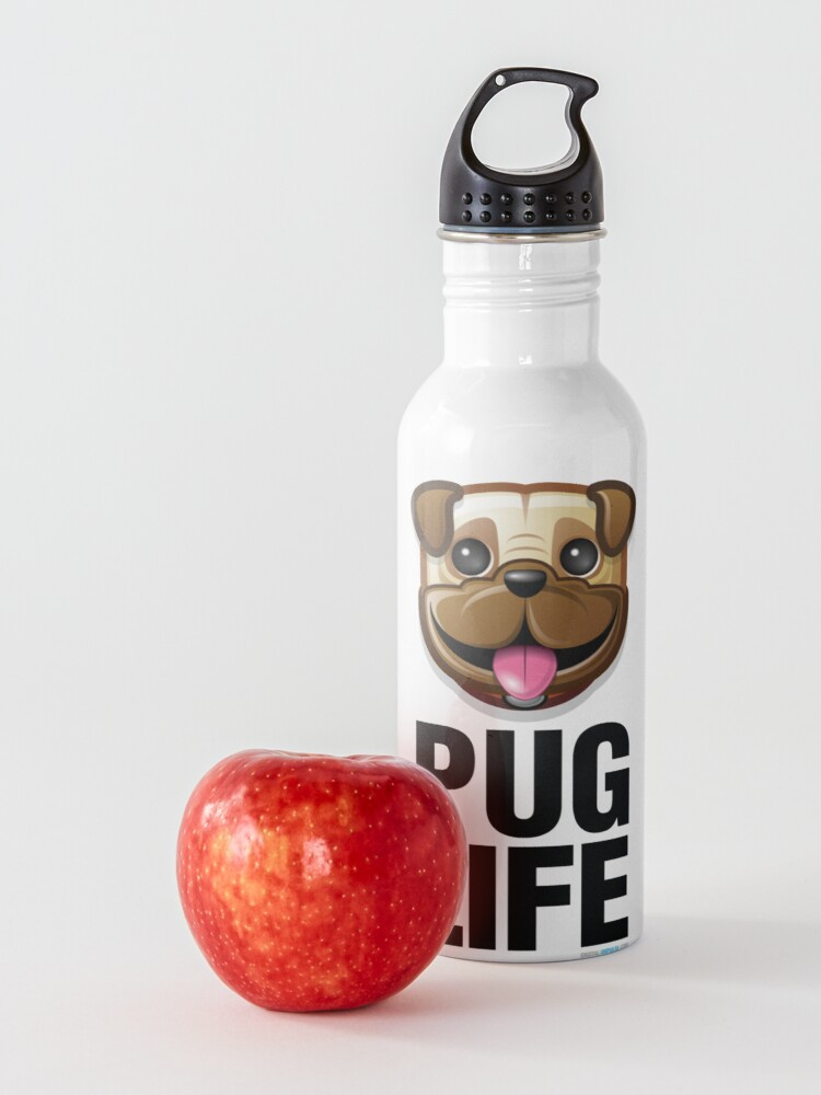 Alternate view of Pug Life Water Bottle