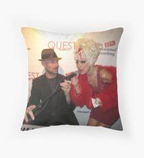 Fabulous celebrities Throw Pillow