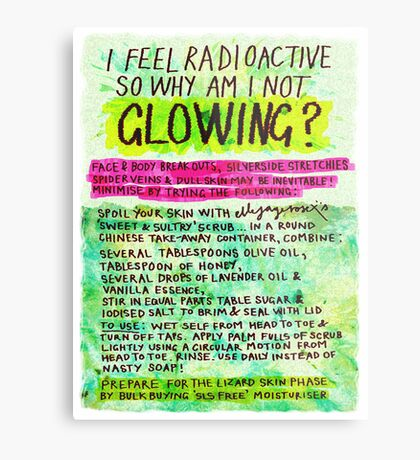 Pregnancy: I Feel Radioactive, so Why am I Not Glowing? Metal Print