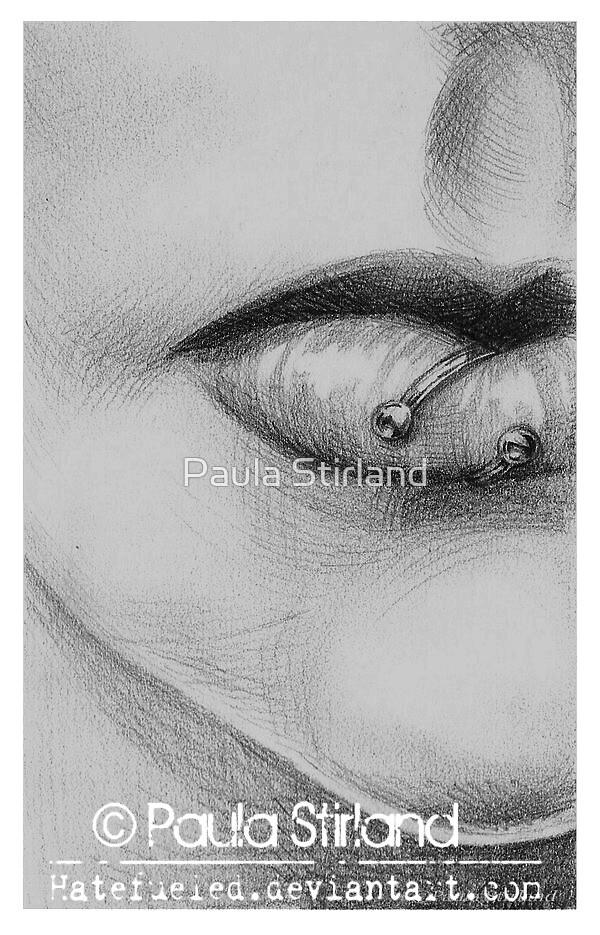 Bound Lip by Paula Stirland