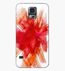Colorful Watercolor Stroke Case/Skin for Samsung Galaxy