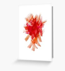 Colorful Watercolor Stroke Greeting Card