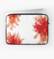 Colorful Watercolor Stroke Laptop Sleeve