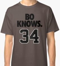 Bo Knows. 34 Classic T-Shirt