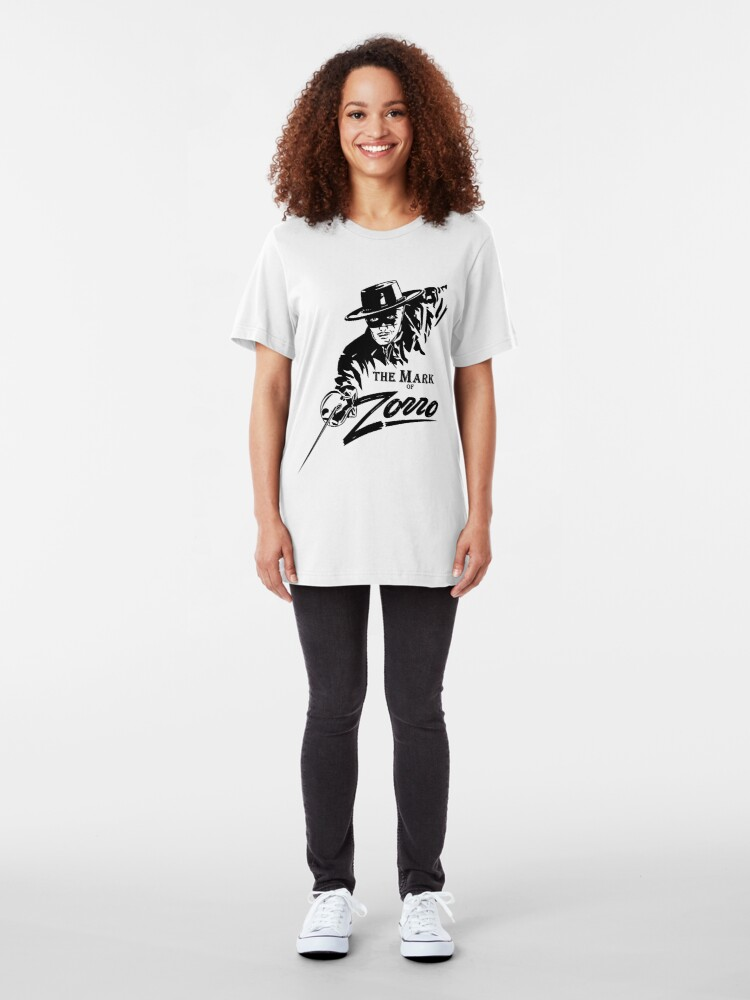 Alternate view of The Mark of Zorro Slim Fit T-Shirt