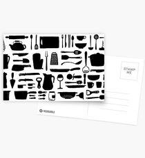 Cuisine Postcards