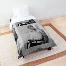 Lil peep portrait Comforter