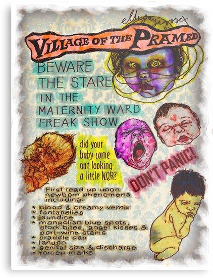 Pregnancy: Village of the Pramed by ellejayerose
