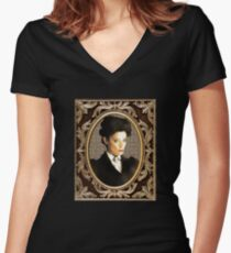 Missy (The Master / Mistress) Women's Fitted V-Neck T-Shirt