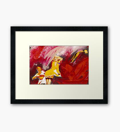 The look, 2011 Framed Print