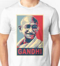 Mahatma Gandhi portrait Campaign Design  T-Shirt
