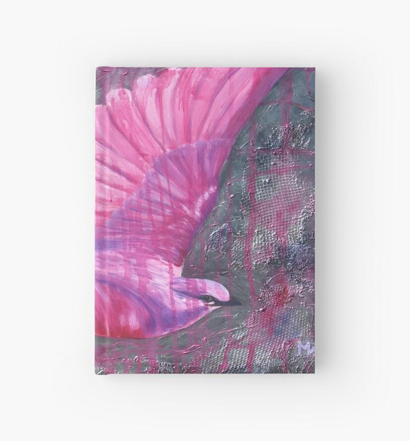 Pink Bird Joy by Magenta Wise