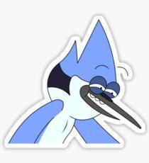Mordecai - Regular Show Sticker
