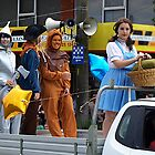 Dorothy, Tinman & Characters from The Wizard by Bev Pascoe