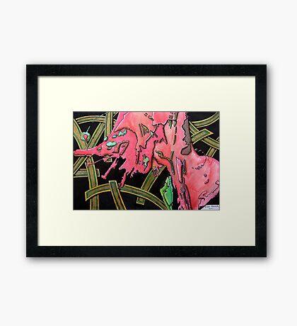 325 - STRING ART IV - DAVE EDWARDS - MIXED MEDIA - 2011 Framed Print