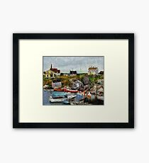 Nova Scotia Peggy's Cove Framed Print