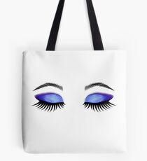 Lashes and Eyeshadow  Tote Bag