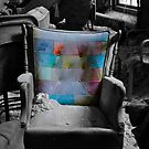 """Layered Chair""  by kailani carlson"