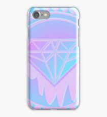 Pastel Diamond neon Screen print iPhone Case/Skin
