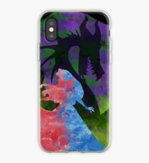 Once Upon a Dream - Splash Dress iPhone Case