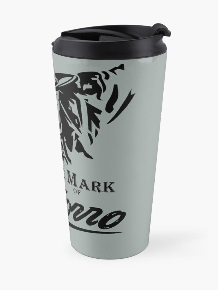 Alternate view of The Mark of Zorro Travel Mug