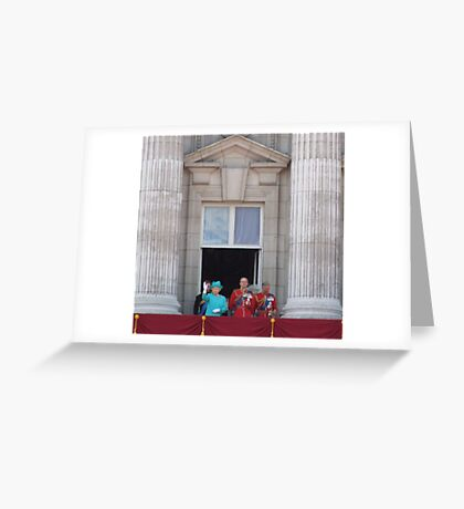 Queen and family Greeting Card