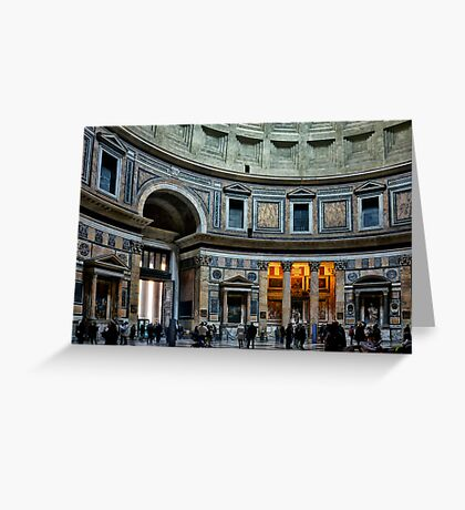 The Pantheon of Rome Greeting Card