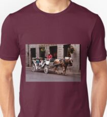 Horse Drawn Carriage - Montreal Unisex T-Shirt