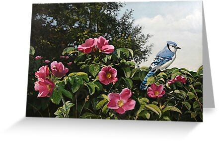 """""""Summer Blossoms"""" by Frank Boudreau"""